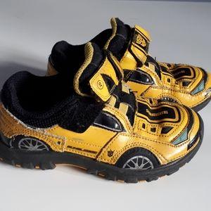 Transformer sneakers yellow